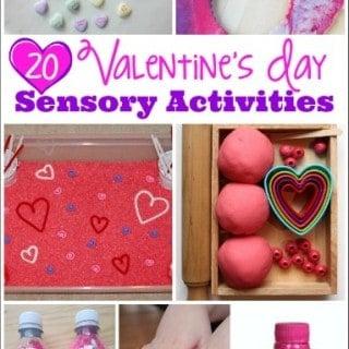 20 Valentines Day Sensory Activities