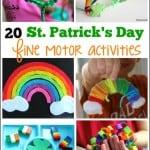 St. Patrick's Day Kids Fine Motor Activities