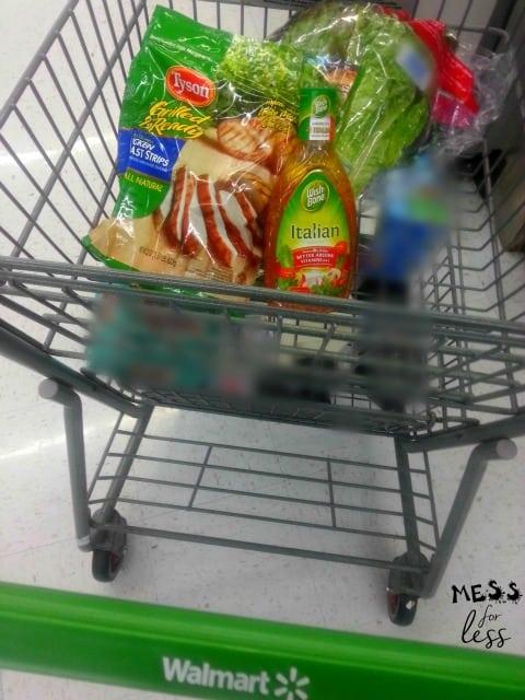 Walmart shopping trip #ad #TBD