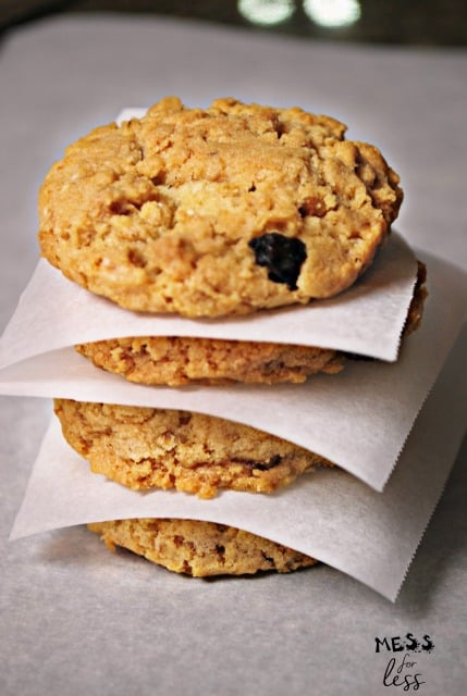 Granola Cookies Recipe