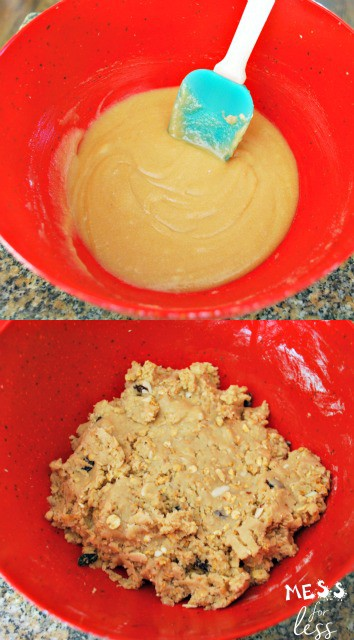 Easy granola cookies recipe