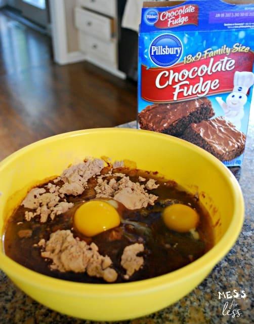 Pillsbury chocolate fudge brownies brownie cake pops