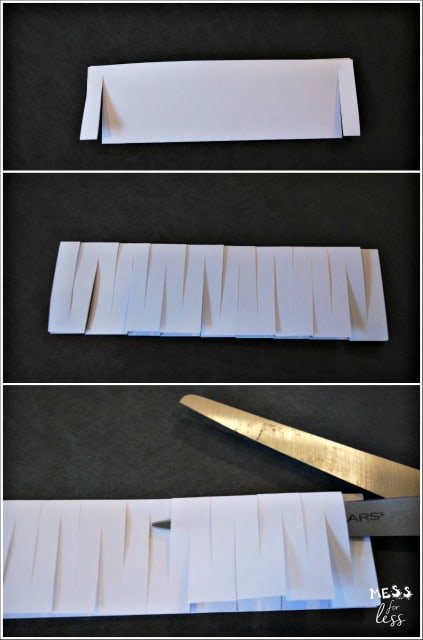 science experiments for kids - learn how to make an index card chain