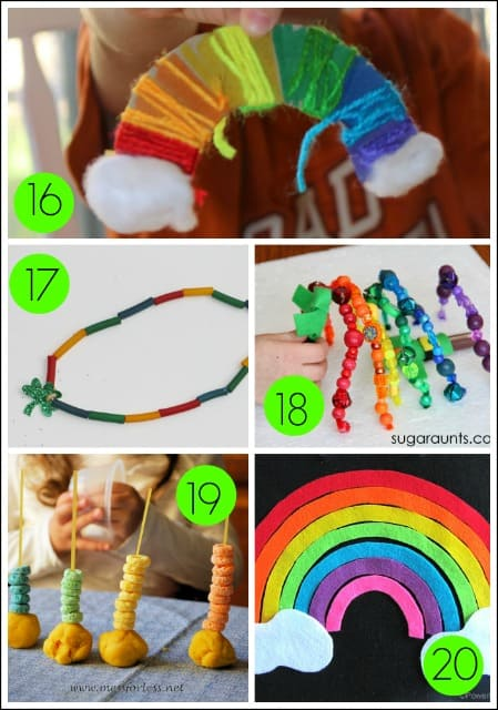 St Patrick S Day Kids Fine Motor Activities Mess For Less