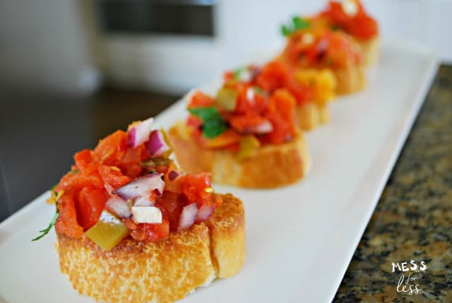 tex mex bruschetta recipe