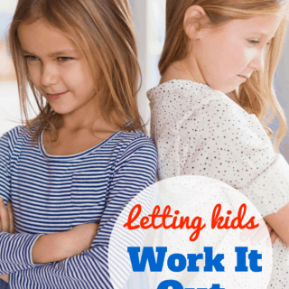 Letting Kids Work it Out