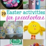 19 Fun Easter Activities for Preschoolers