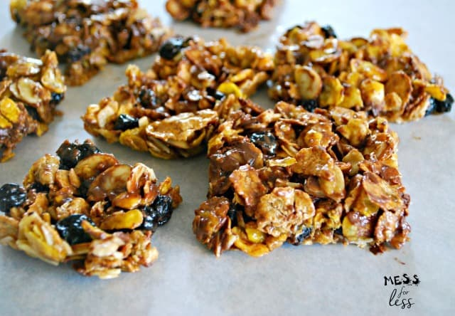 easy no bake cereal bars
