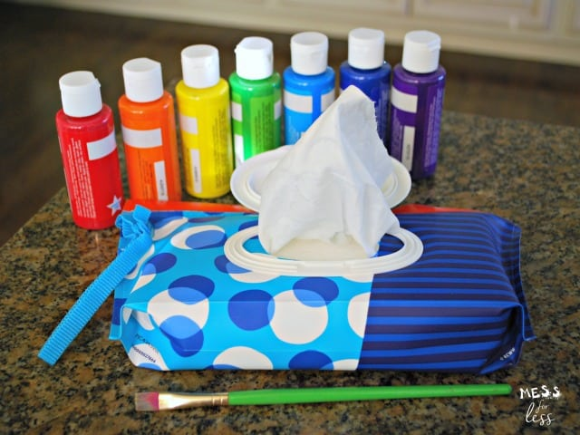 hand print flower pot craft for kids