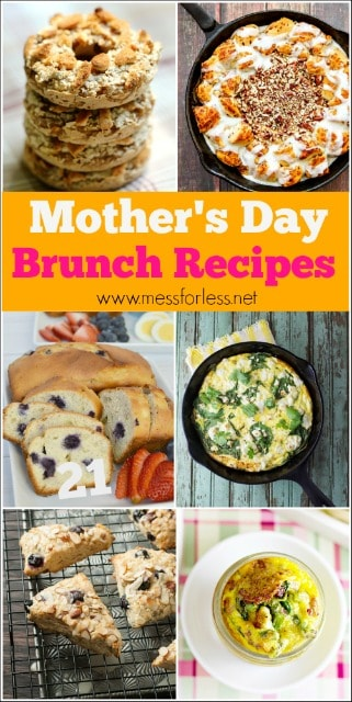 Treat mom with one of the 21 Best Mother's Day Brunch Recipes. She will be so touched and surprised.