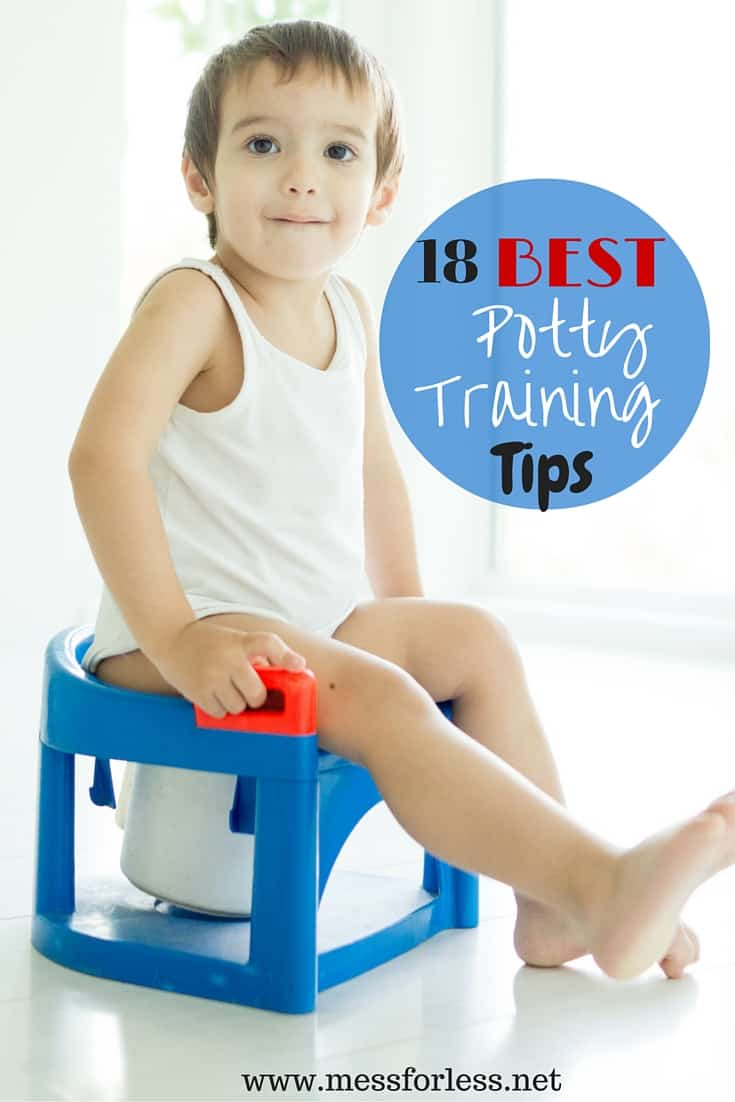 18 Best Potty Training Tips Mess For Less