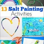 13 Salt Painting Activities
