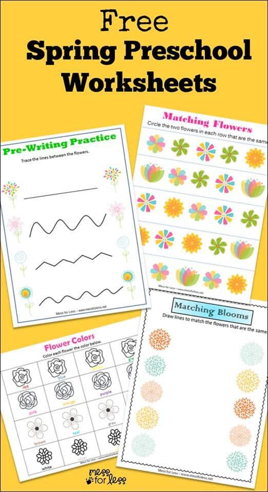 spring-worksheets