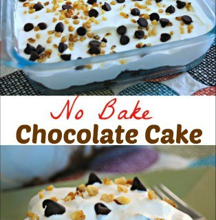 Chocolate No Bake Cake Recipe