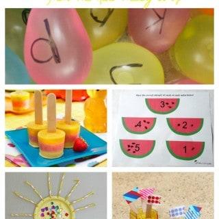 20 Summer Activities for Preschoolers