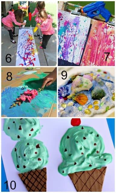 summer art activities