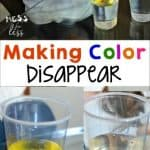 Easy Experiments – Making Color Disappear