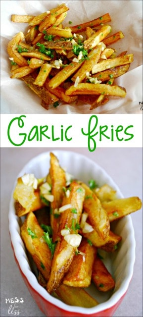 This Garlic Fries Recipe is just as good as the legendary fries served at San Francisco Giants games! Now you can make them at home. #PEPCID #PEPCIDTastemakers #sponsored