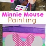 Minnie Mouse Craft for Mommy/Daughter Time