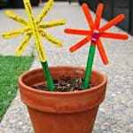 Popsicle Stick Flowers
