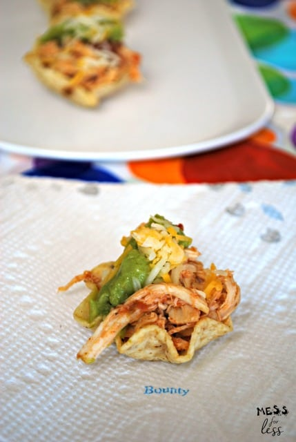chicken taco cups