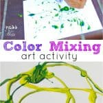 Fun Activities for Children: Color Mixing Art