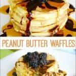 Peanut Butter Waffles