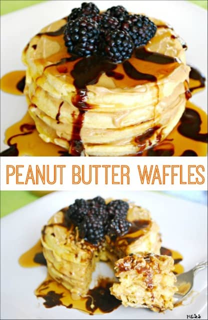 butter chocolate chip waffles peanut butter waffles make peanut butter ...