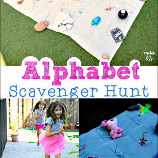 Enjoying the Last Days of Summer – Alphabet Scavenger Hunt
