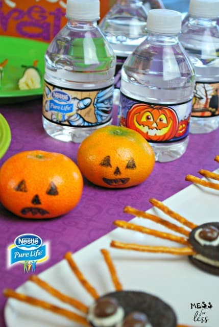 Easy halloween treats mess for less for Easy halloween treats for work party