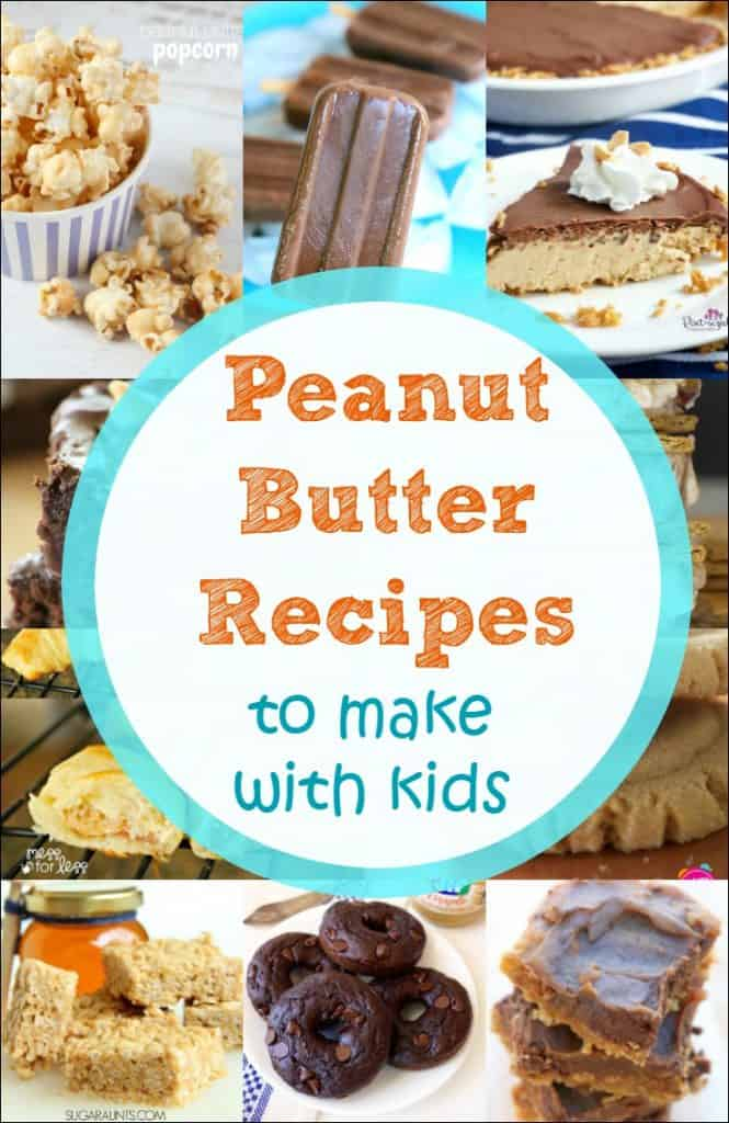 My kids love peanut butter and cooking! These are the best peanut butter recipes to make with kids that I have found. Cooking with kids is so much fun!