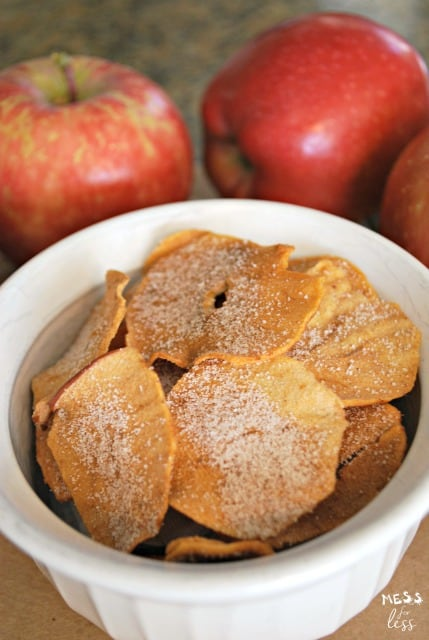 This easy apple chips recipe is the best one we have ever tried. Will be making these again and again. Kids loved them!