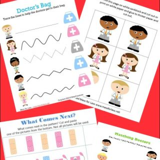 Learning About Healthcare plus Free Worksheets for Kids – Doctor Themed