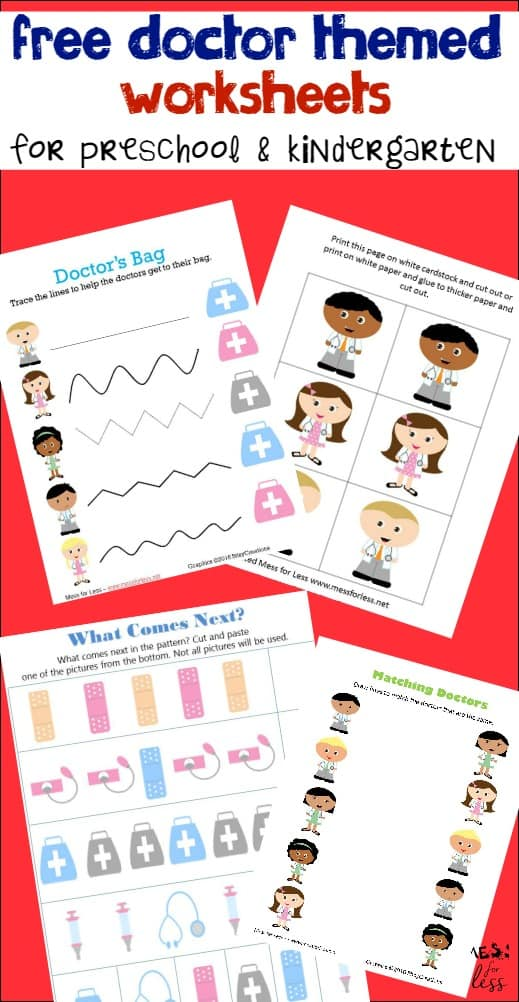 Learning About Healthcare Plus Free Worksheets For Kids Doctor Worksheets On Money Free Worksheets For Kids With A Doctor Theme Learn About Healthcare Options And Download Some