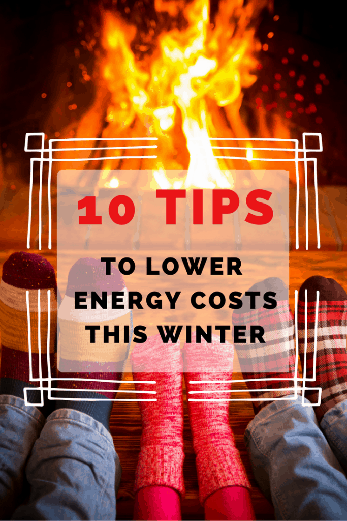Looking for tips to lower energy costs this winter? Here are 10 ways to save! #ad #PGE4ME