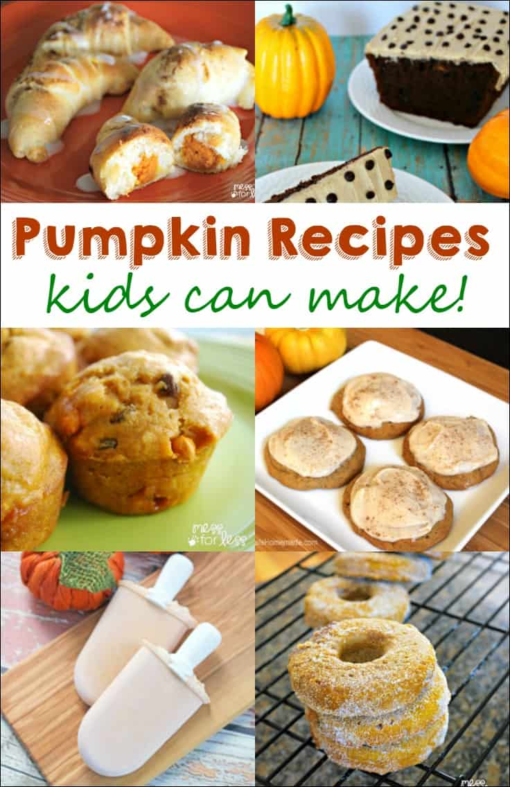 'Tis the season for pumpkin! You and your kids will love these delicious pumpkin recipes. Have some fun cooking with kids!