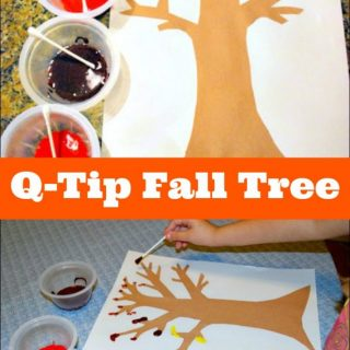 Q-Tip Fall Tree