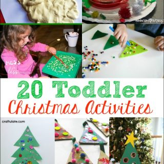 20 Toddler Christmas Activities