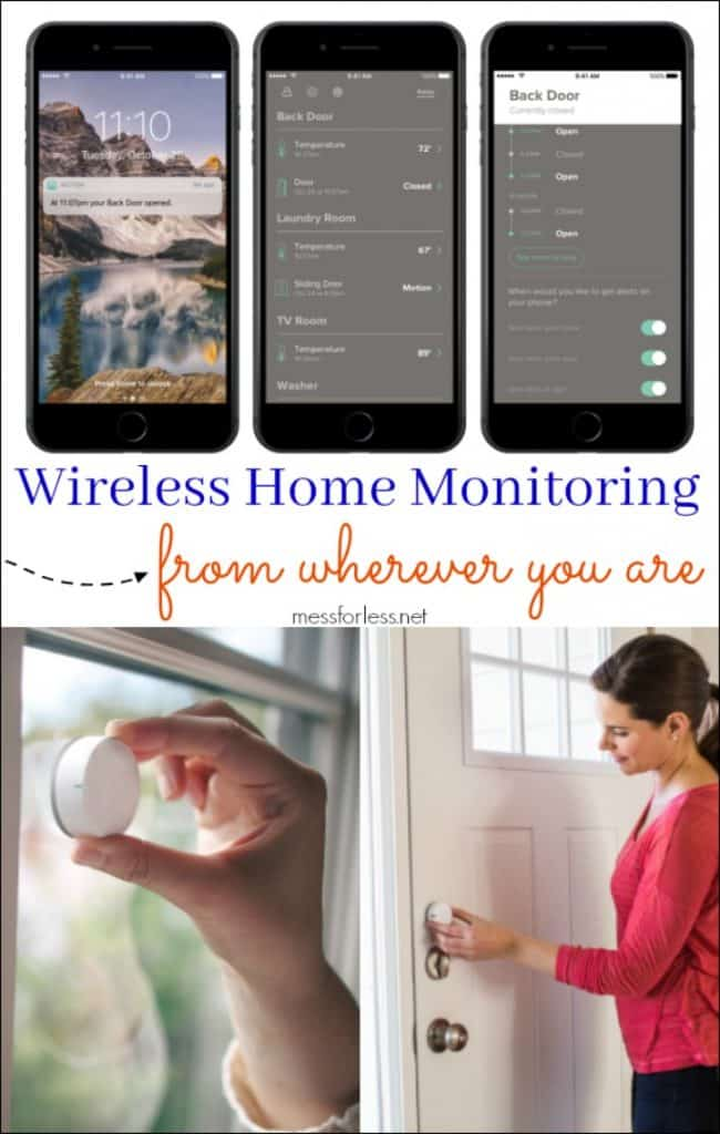Wireless Home Monitoring from wherever you are #ad