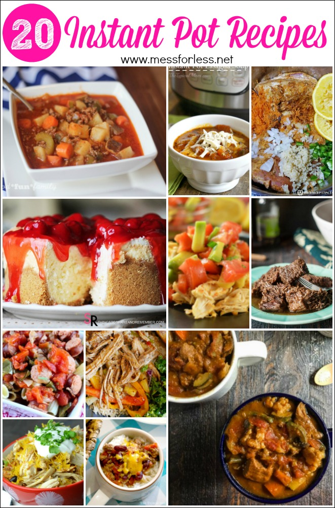 Here are some of my favorite Instant Pot recipes. Make dinner quickly and easily with a pressure cooker and these easy recipes!