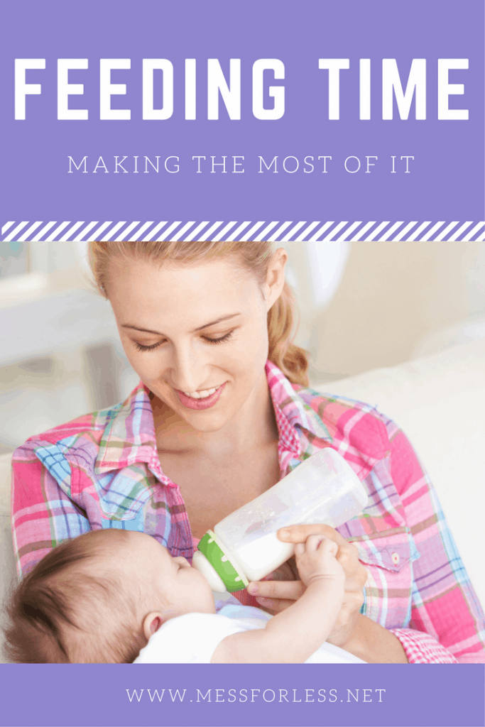 How do you make the most of feeding time and strengthen your bond with baby while you are bottle feeding? Check out these easy tips! AD