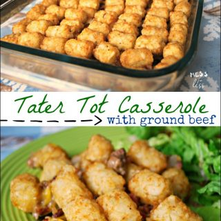 Ground Beef Tater Tot Casserole