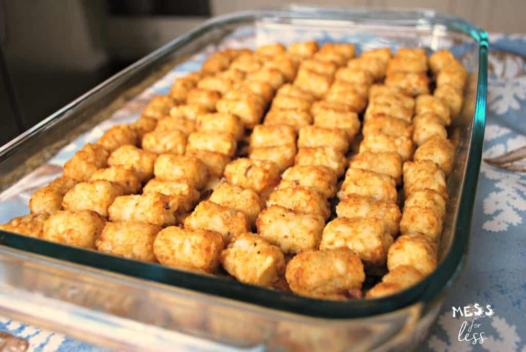 Midwesterners are probably well aware of tater tot casseroles, but if you're unfamiliar, get ready for your world to be rocked with some seriously mouthwatering askreservations.ml possibilities are endless with these potato-based dishes, which can be served for breakfast, lunch, or askreservations.ml!
