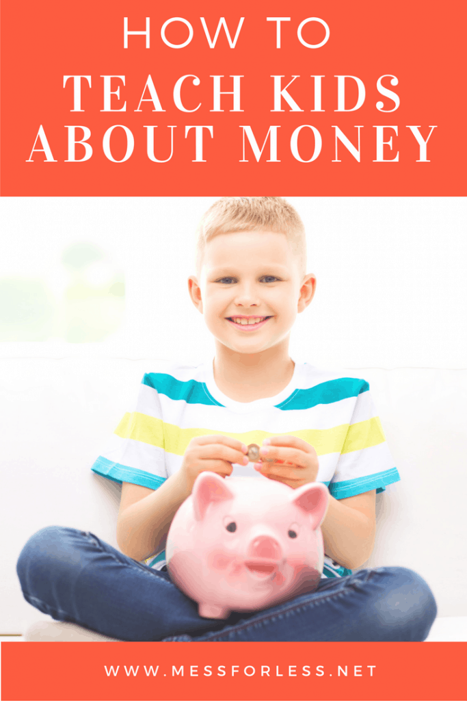 Want to teach kids about money? Learn why it is never too young to start. sponsored #moneygenius