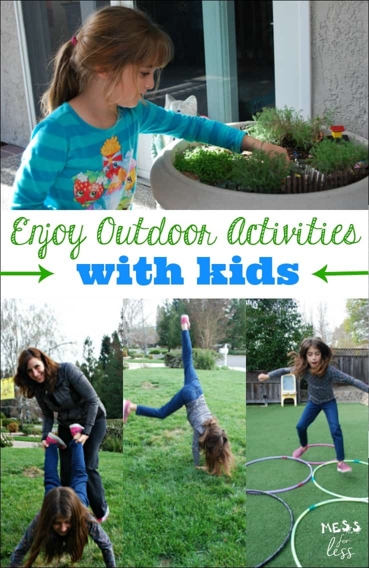 Fun and easy ways to enjoy outdoor activities with kids - even if you suffer from allergies! #ad #SensimistAtCVS #BeGreater