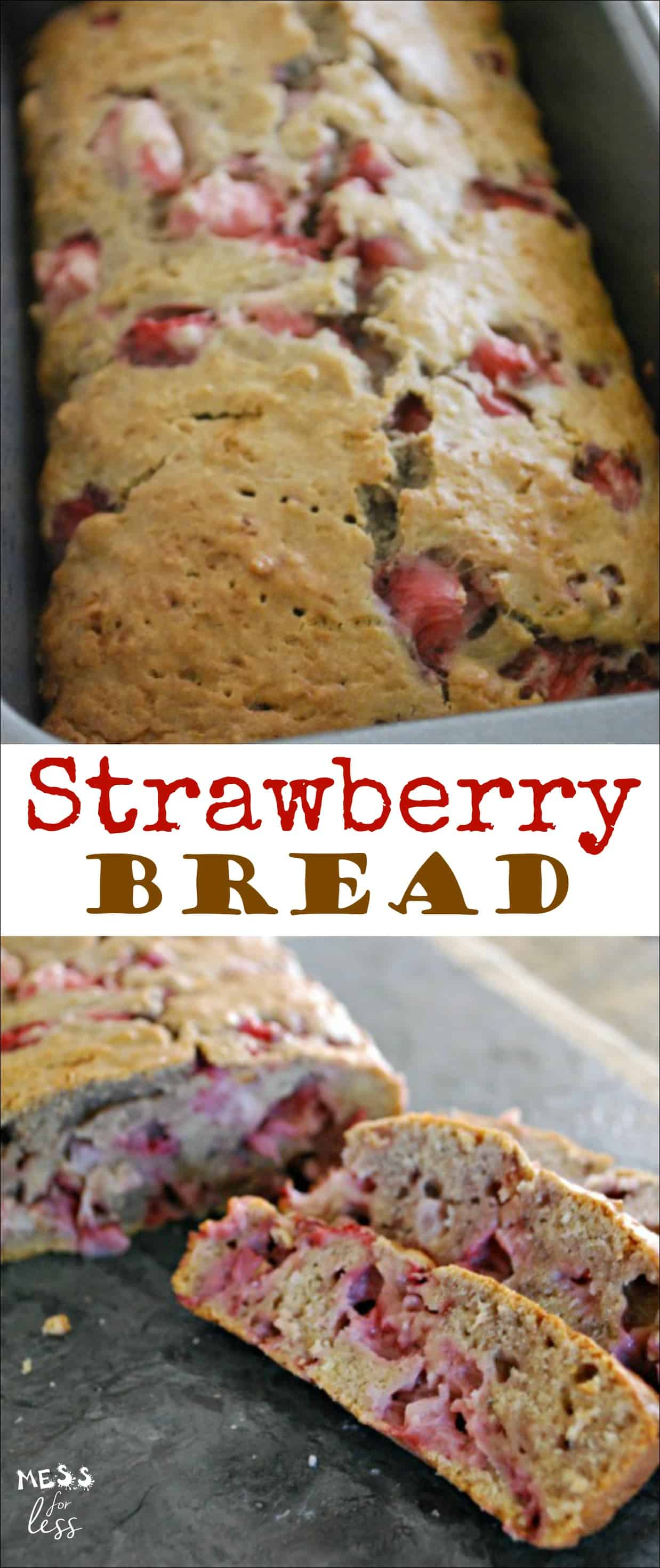 Have a sweet tooth? Enjoy the sweets you love without all the added sugar with this Strawberry Bread Recipe. #ad #SplendaSweeties #SweetSwaps @SPLENDA