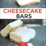 Cheesecake Bars made with Splenda