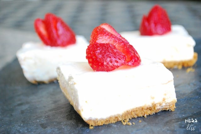 cheesecake bars