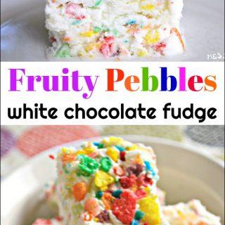 Fruity Pebbles Fudge
