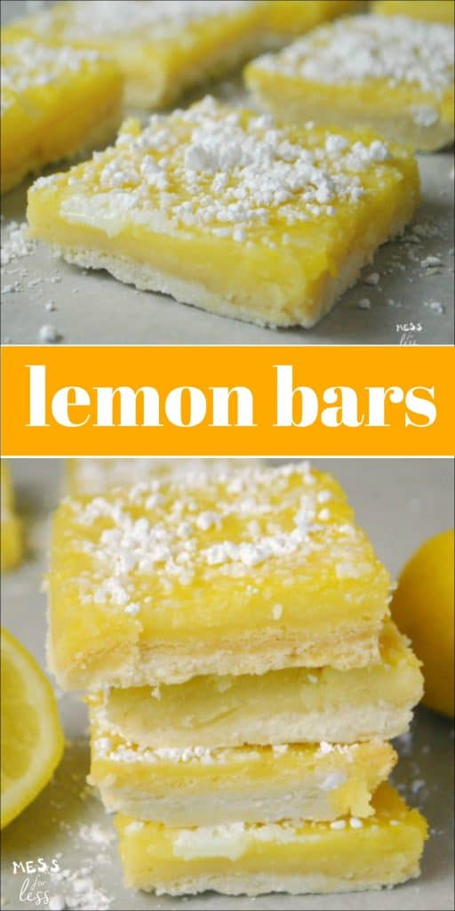 These Lemon Bars are the perfect summer treat. Just the right amount of tartness combined with a delicious cookie crust. #ad #SplendaSweeties #SweetSwaps @SPLENDA